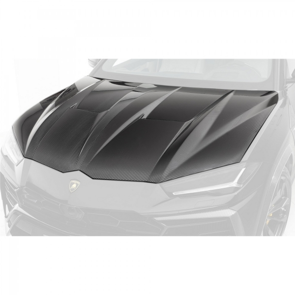 TopCar Design Part 1.2 Primed Carbon Hood Lamborghini Urus