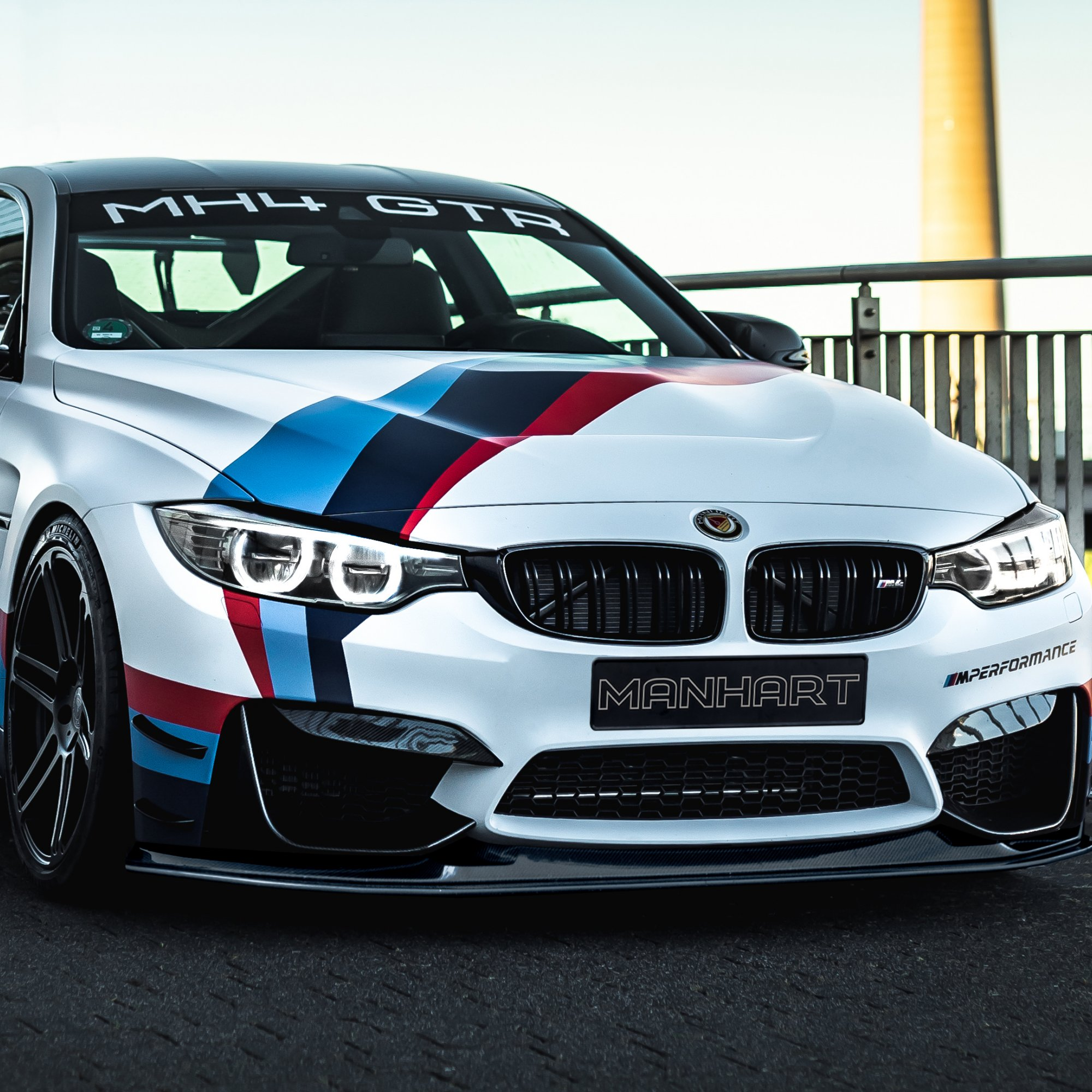 Manhart Carbon Hood Gts Style Bmw F8x M3 M4 Competition Cs Gts M3 M4 Competition Cs Gts F80 F82 F83 M M Performance Bmw Manhart Performance Online Shop