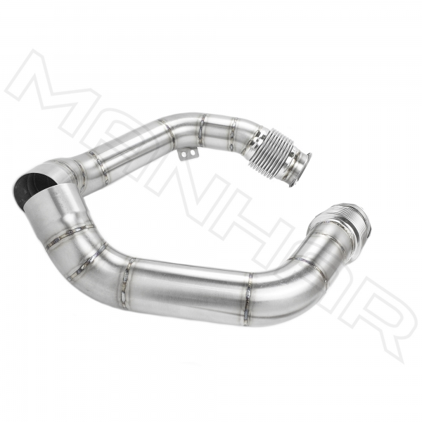 MANHART Downpipes Race BMW F95 / F96 X5M / X6M (Competition) Kat-Ersatz (Teil 2 von 2)