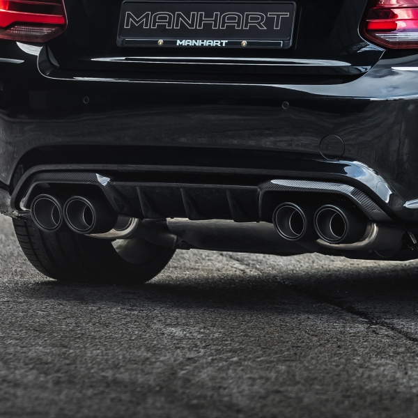 MANHART Carbon Heckdiffusor M2 CS Design - BMW F87 M2 (Competition / CS)