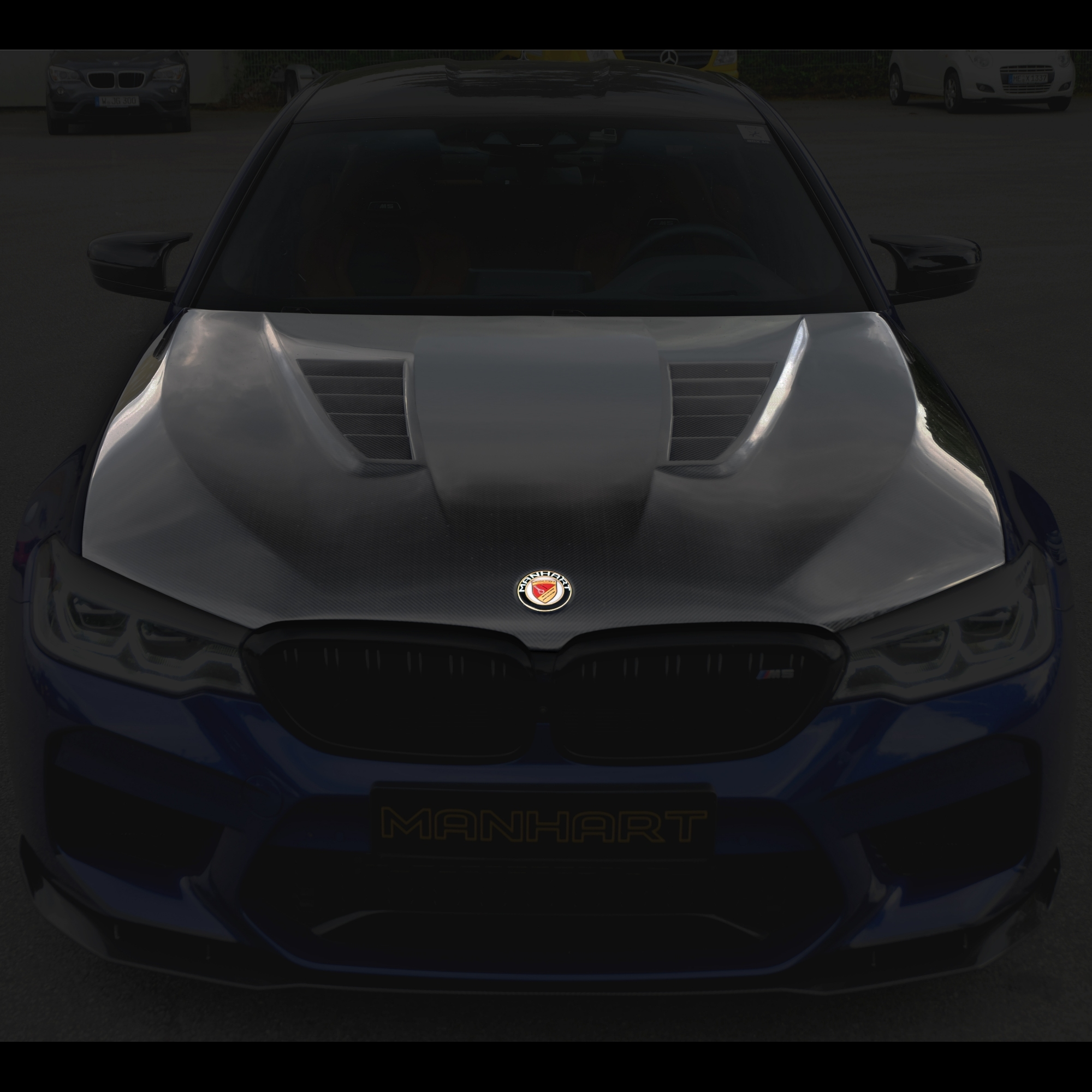 Manhart Carbon Hood Bmw F90 M5 Competition With Gtr Air Vents M5 Competition F90 M M Performance Bmw Manhart Performance Online Shop
