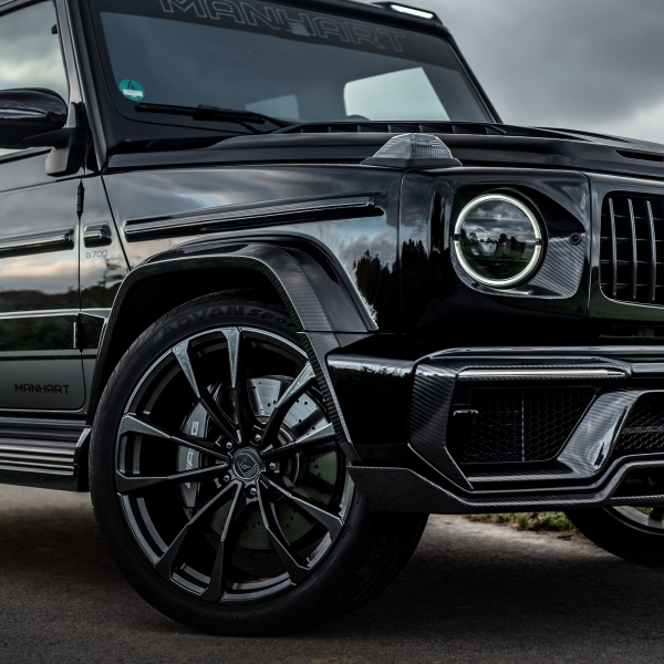 Mercedes-AMG G 63 - Inferno Line Rim Set - Silk Matte Black