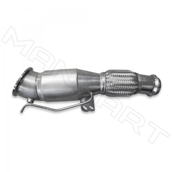 MANHART Downpipe Sport BMW G29 Z4 with 300 Cells HJS Catalytic Converter