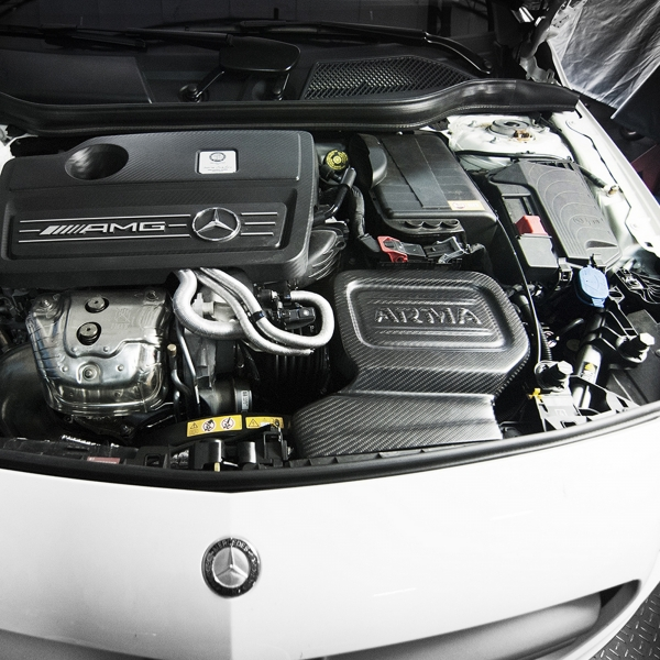 MANHART Carbon Air Intake Mercedes-Benz CLA 45 AMG
