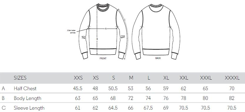 Sizing Chart Pullies