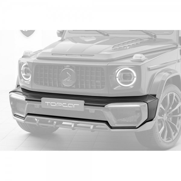 TopCar Design Part 1 Carbon Front Bumper with Air Intakes Mercedes G-Class Inferno