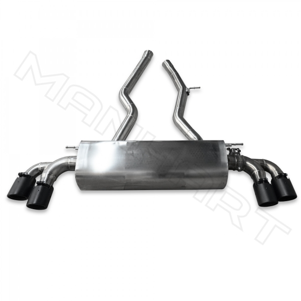 MANHART Slip-on Exhaust Toyota GR Supra with Valve Control