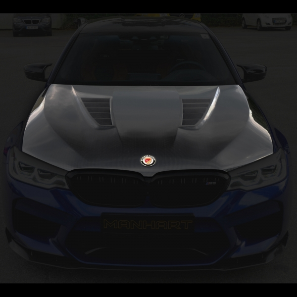 MANHART Carbon Hood BMW F90 M5 (Competition) with GTR Air-Vents