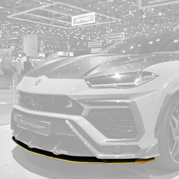 TopCar Design Part 14 Carbon Spoiler Lip Lamborghini Urus