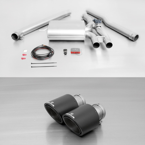MANHART Valve Controlled Exhaust MINI F56 / F57 MCS / JCW / GP3