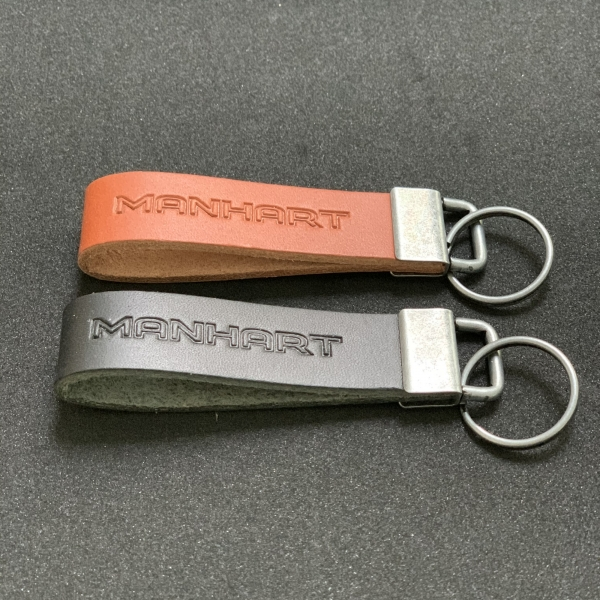 MANHART Leather Key Ring