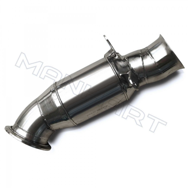 MANHART Downpipe Sport BMW F2x / F87 1-Series / 2-Series / M2 (N55) with 300 Cells HJS Catalytic Converter
