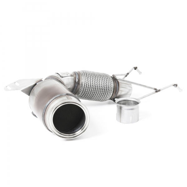 MANHART Downpipe Sport MINI F5x MCS / JCW / GP3 with 200 Cells Catalytic Converter