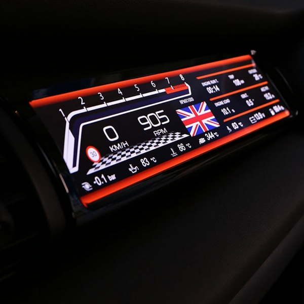 MANHART Passenger Sport Display MINI F55 / F56 / F57