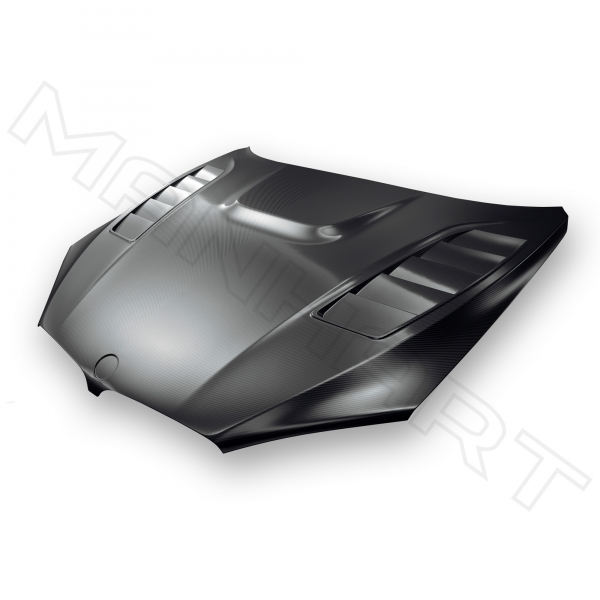 MANHART Carbon Hood BMW F85 / F86 X5M / X6M with GTR Air-Vents