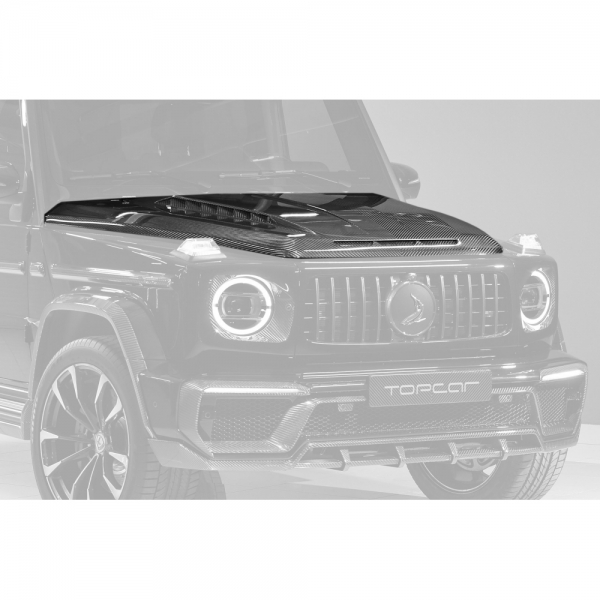 TopCar Design Part 7 Carbon Engine Bonnet Mercedes G-Class Inferno