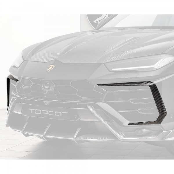TopCar Design Part 3 Two-piece Carbon Air Intake Surrounds Lamborghini Urus