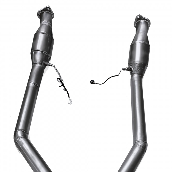MANHART Replacement Sport Pipe with 300 Cells HJS Catalytic Converters Jeep Cherokee Trackhawk