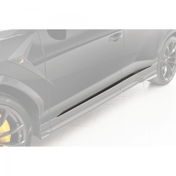 TopCar Design Part 6 Four-piece Carbon Door Moldings Lamborghini Urus